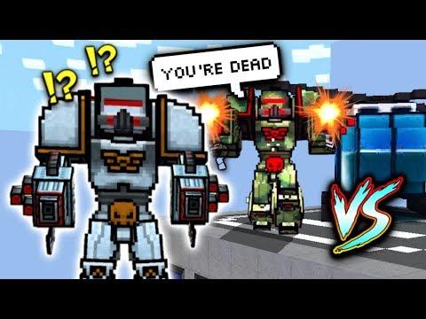 MECH VS. EVIL MECH! (Pixel Gun 3D)