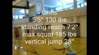 vuclip how to dunk. jump training 6 inch gain