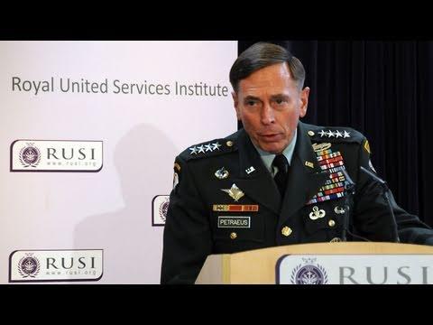 General David Petraeus Briefing on Afghanistan, March 2011