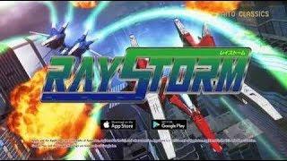 Tiato arcade classic Ray Storm vs. Ray Storm HD game comparison via PS2 & Xbox 360