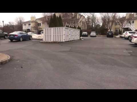 Black Top Damage by Snow Contractor