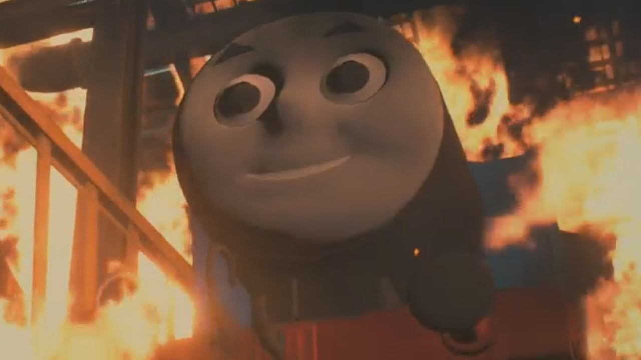 Mr  X as Thomas the Tank Engine mod for 'Resident Evil 2' is here