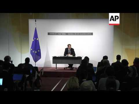 Ashton spokesman Michael Mann comments on progress of talks