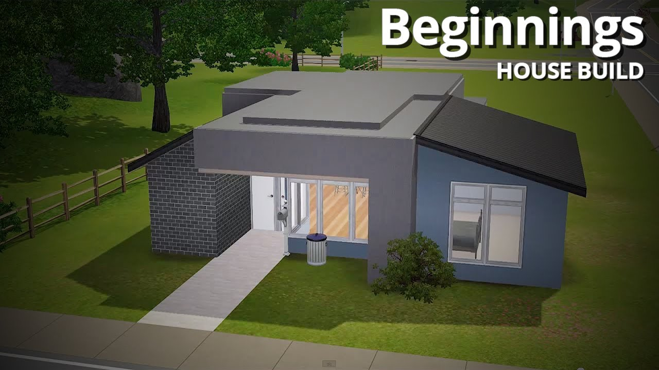 The sims 3 house building beginnings starter home for Small starter homes