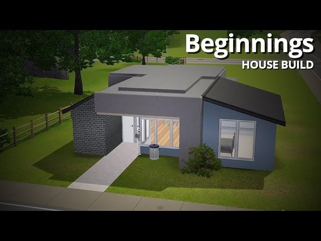 The Sims 3 House Building - Beginnings (Starter Home)