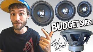 Budget BANGIN Subwoofers! 10