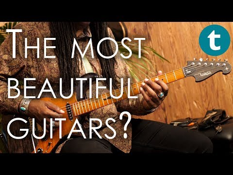 Geartalk | Knaggs - the most beautiful guitars? | with Larry Mitchell | Thomann