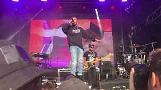 Anderson .Paak, Come Down and The Waters, Laneway Festival, Sydney, February 2018