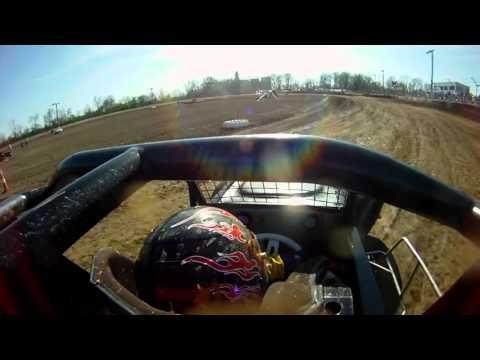 USAC Qualifying. Montpelier Motor Speedway 4/23/16