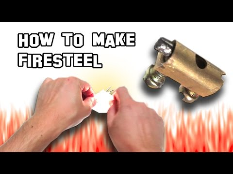 ✔ How To Make a Firesteel