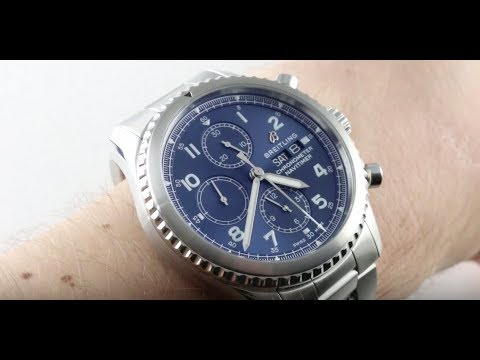 545f98fe838 2018 Breitling Navitimer 8 Chronograph 43 A13314101C1A1 Luxury Watch Review