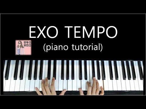 EXO Tempo/엑소 템포(Piano Tutorial) 코드연습/코드반주