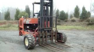1995 Moffet M5000 Forklift