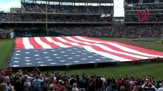 2012/04/12 U.S. Marine Band plays anthem
