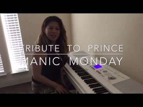 """Manic Monday"" -  Prince Piano Cover - 7 Notes"