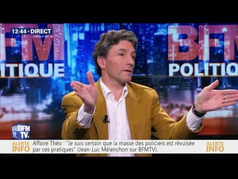 Jean Luc Mélenchon : face à Marc Trévidic.
