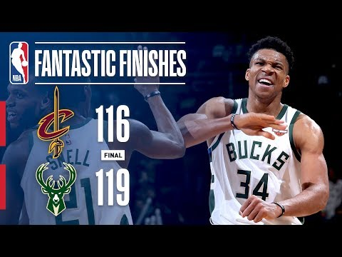 The Bucks & Cavs Go Down To The Wire In Milwaukee
