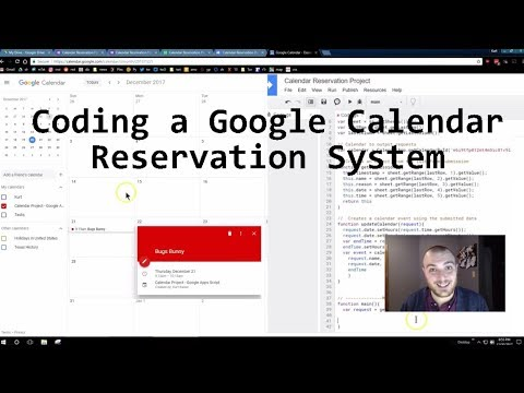 Google Apps Script Code A Calendar Reservation System - JavaScript Dates And Time
