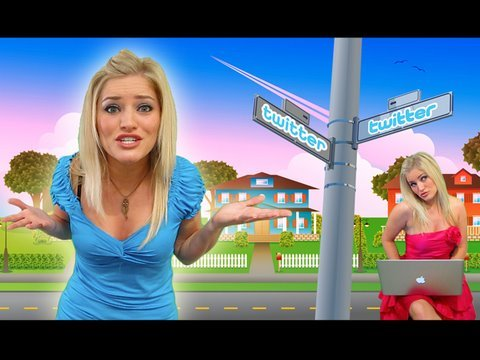 """The Twitter Song"" - Rockin' Robin Spoof - I'm tweeting 