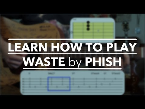 Phish Waste Guitar Lesson ► Acoustic Version For Beginners