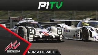1998 vs 2015 porsche 911 gt1 vs 919 hybrid assetto corsa porsche pack ii