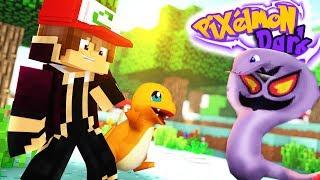 Minecraft Pixelmon Dark, Pokemon Lendário! Charmander vs Arbok! 02