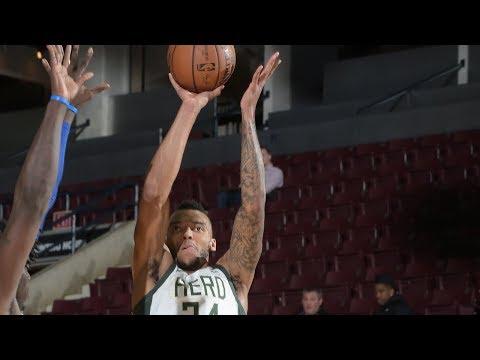 Joel Bolomboy drops 27 points vs. Austin Spurs at Showcase