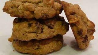 Chocolate Chip And Walnut Cookies Recipe
