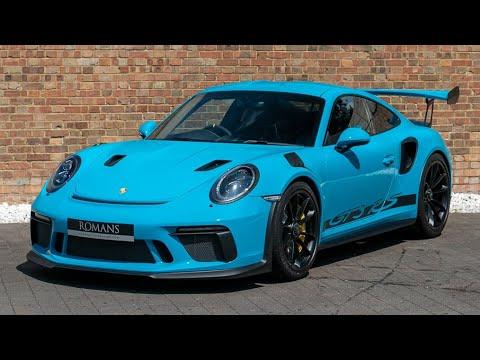 2018 Porsche 911 991 2 Gt3 Rs Miami Blue Walkaround Interior High Quality Youtube