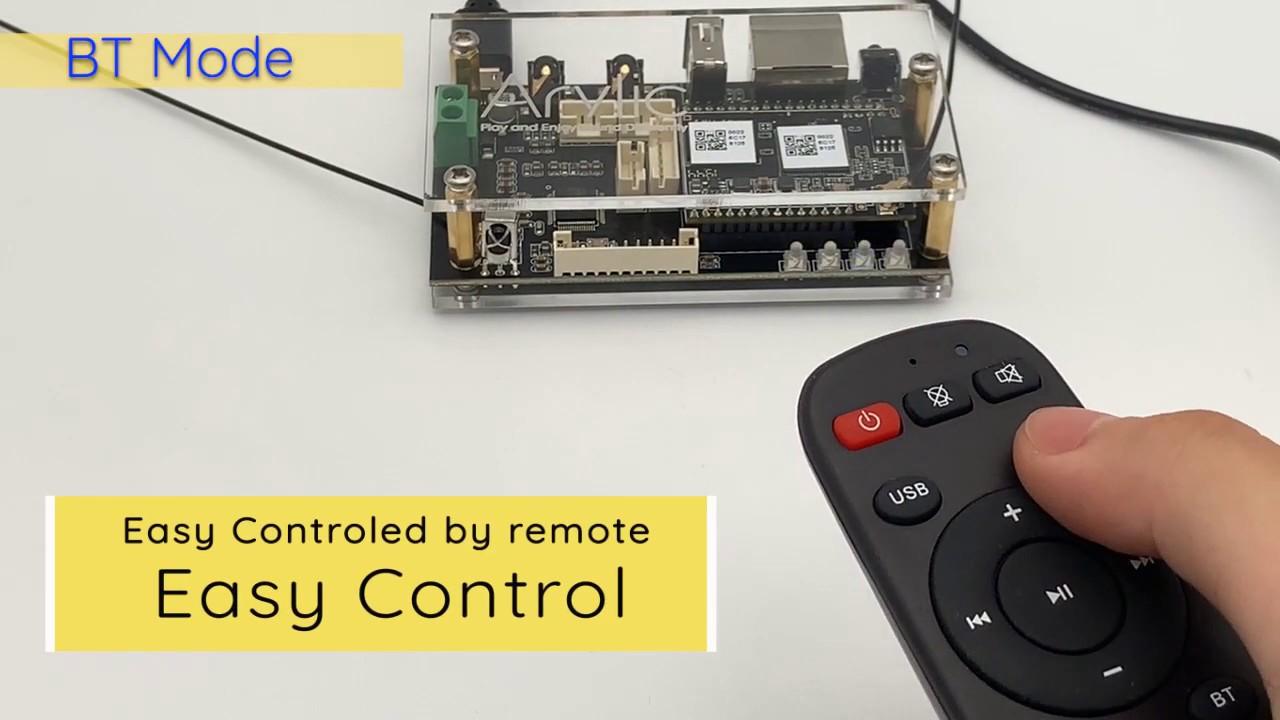 Up2stream Pro V3 WiFi&Bluetooth 5.0 Stereo Receiver Board/Module for DIY Speaker