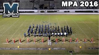 mulberry hs panther band west side story mpa 2016 hd