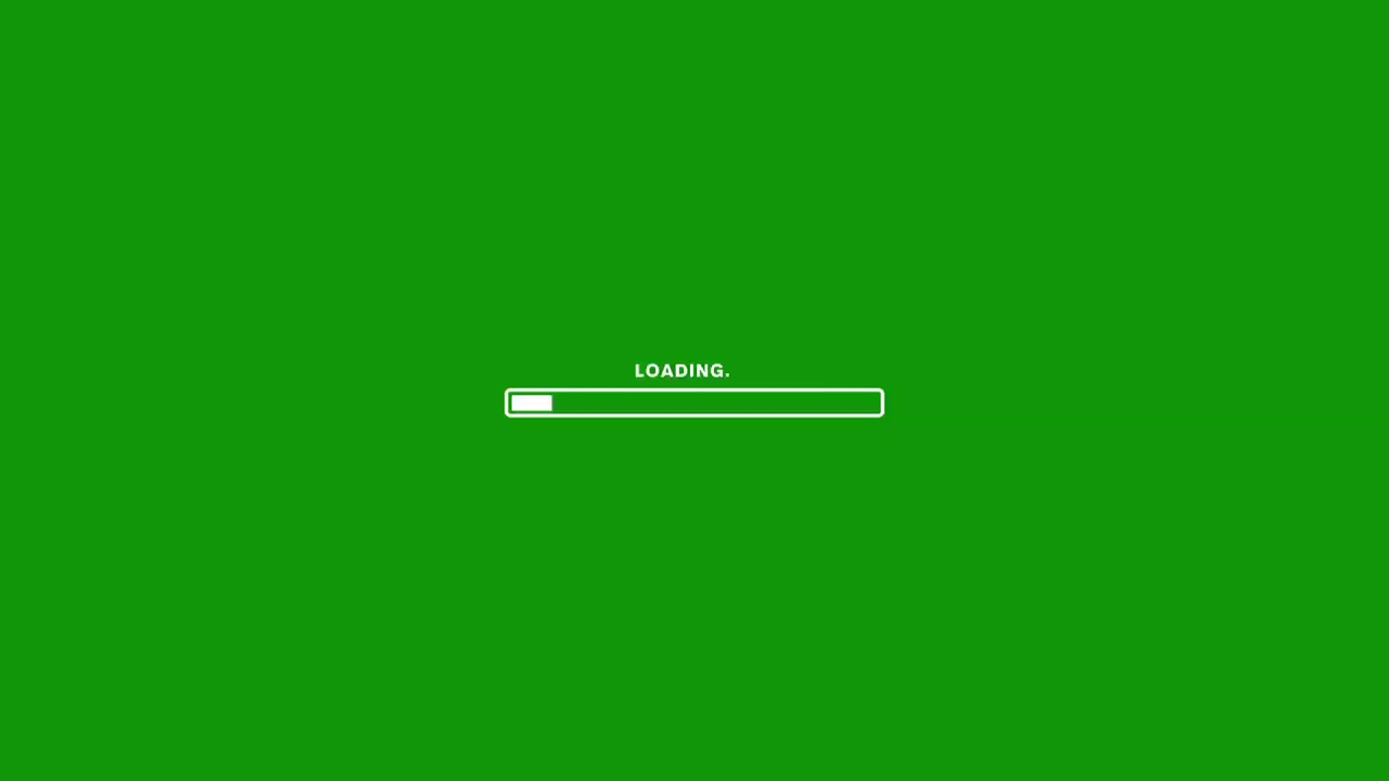 Loading Animation Green Screen Video Free Download 1080p Hd Stock Nocopyright Download Youtube