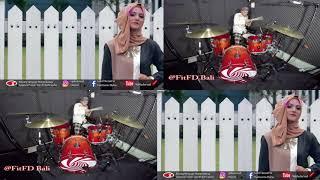 rahmaka ya rabb puja and hadi drum cover fitfd bali