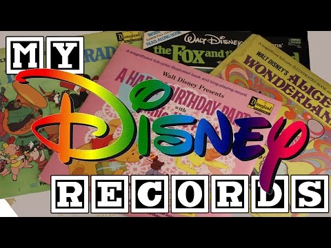 My Record Collection - My Disney Records