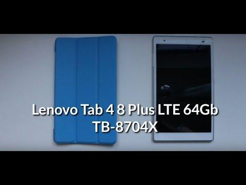 Полный обзор Lenovo Tab 4 8 Plus LTE 64 Gb, TB-8704X