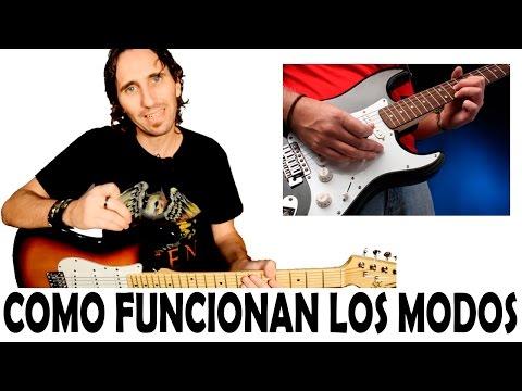 Como Tocar Los Modos (Escalas Modales) En Guitarra Eléctrica por Mario Freiria TCDG