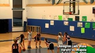Abington Varsity Lady Wave Basketball vs Walpole - 2/17/15