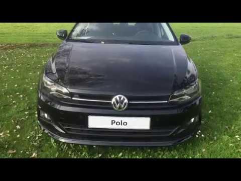 Volkswagen NEW Polo 2018 comfortline deep black exterieur ...