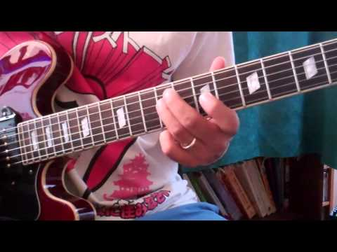 How to play Dead Flowers solo - Rolling Stones