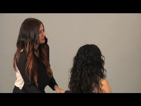 long hair styling tips how to diffuse hair hair styling tips 9473 | hqdefault