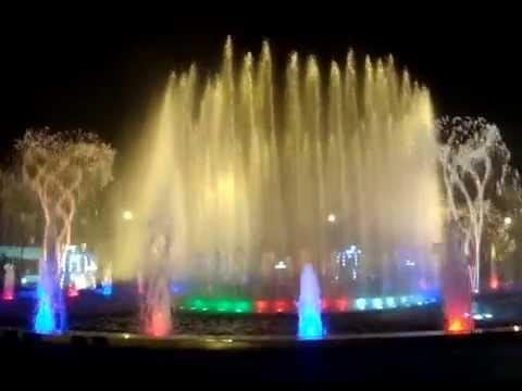 Đài phun nước trung tâm TP Yên Bái -  Yenbaionline.Net