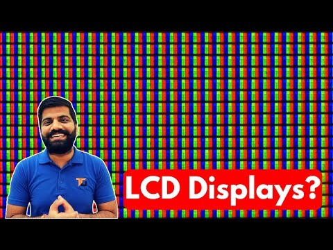 LCD Displays Explained | Liquid Crystal??