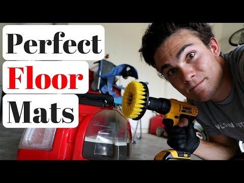 Super Clean Car Floor Mats: 4 Steps!