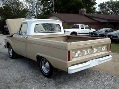 1964 Ford F100 Custom Cab Pickup Truck Youtube