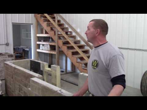 Assembly of Pre Cast Kitchen Panel System Part 1