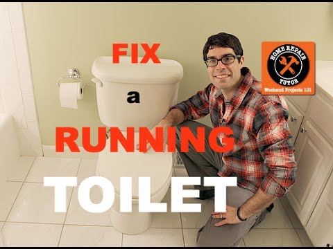 Fix a Toilet That Keeps Running -- by Home Repair Tutor