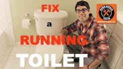 Fix a Toilet That Keeps Running