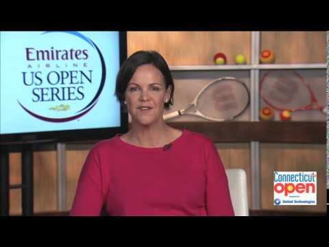 Connecticut Open presented by United Technologies: Interview with Lindsay Davenport