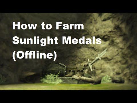 Dark Souls 2: How to Farm Sunlight Medals (Offline/Solo)