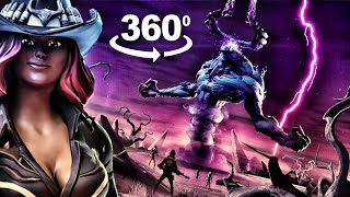 Storm King Fortnite Event but it's in 360 degree interactive